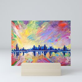 Brilliant Dawn Mini Art Print