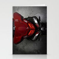 ducati Stationery Cards featuring Ducati 1198 SP by Elias Silva Photography