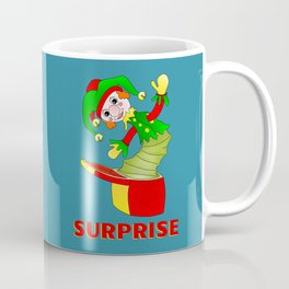 SURPRISE Jack in the Box Coffee Mug