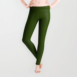 Simply Solid - Juniper Green Leggings