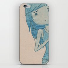 feeling blue iPhone & iPod Skin