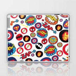 Superhero Stickers Laptop & iPad Skin