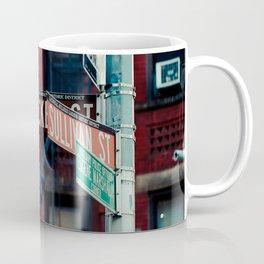 Bleecker & Sullivan Street Coffee Mug