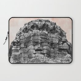 Buddha face with candy Laptop Sleeve
