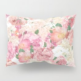 Flowers, Floral Explosion, Floral Pattern, Pink Flowers Pillow Sham
