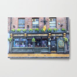 The Golden Lion Pub York Metal Print