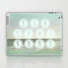 Sun, Sand, Surf  II Laptop & iPad Skin