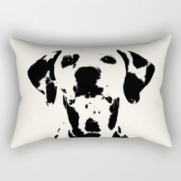 Dalmatian dog watercolour Rectangular Pillow