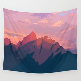 Sunset Hues Wall Tapestry