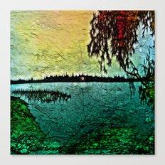 :: Lake View :: Canvas Print