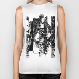Looking Glass. Yury Fadeev. Biker Tank