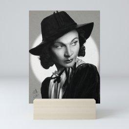 Retro-Divas: Vivien Leigh Mini Art Print