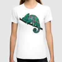 chameleon T-shirts featuring Chameleon by Ben Geiger