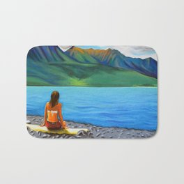 Epuyén Lake  Bath Mat