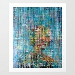 grid portrait Art Print