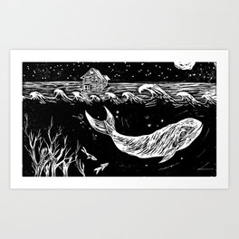 What was once the forest Art Print