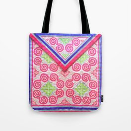 Hmong swirls Tote Bag