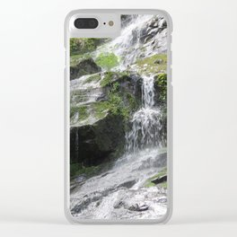 Hen Wallow Falls Clear iPhone Case