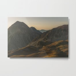Mountain shelter, Italy, 2017 Metal Print