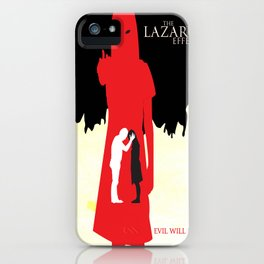 The Lazarus Effect Movie Minimalist Poster iPhone Case