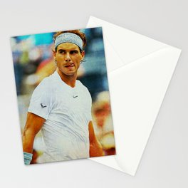 Nadal tennis Stationery Cards