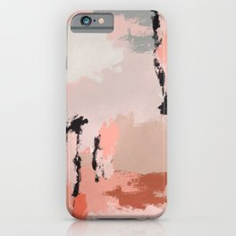 February Hues in Nora iPhone Case