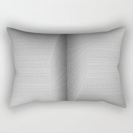 Binary Rooms Rectangular Pillow