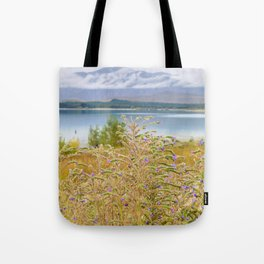 Field of Lupines Tote Bag