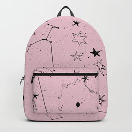 pink galaxi Backpack