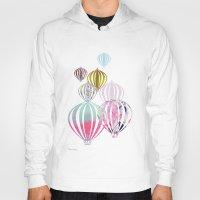 ballon Hoodies featuring Ballon by Lydia Wienberg
