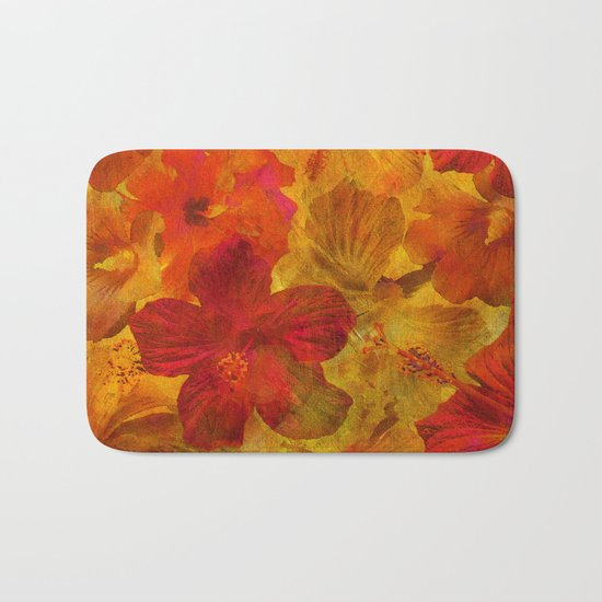 Tropical Beauties Bath Mat