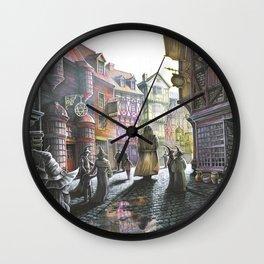 Diagon Alley Wall Clock