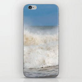 Stormy Ocean waves seascape iPhone Skin