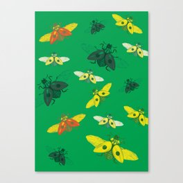Bugged out Canvas Print
