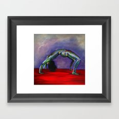 The Bridge Framed Art Print