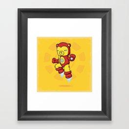 Iron Bear Framed Art Print