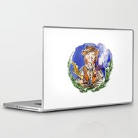 hobbit Laptop & iPad Skins featuring Hobbit by Kris-Tea Books