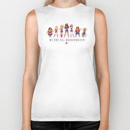 We Are All Wonderwomen! Biker Tank