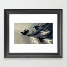 Stormbringers Framed Art Print