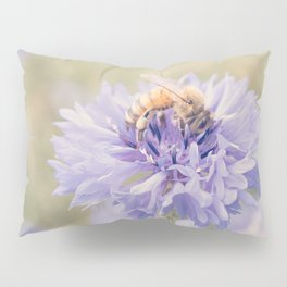 Anatomy of a Bee: Purple and Bee.3 Pillow Sham