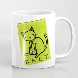 Malt on a Post it note Coffee Mug