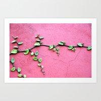 plant Art Prints featuring plant by Baptiste Riethmann