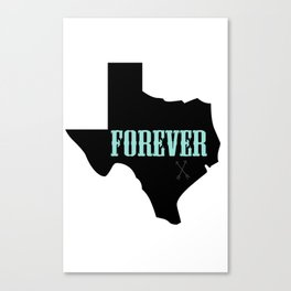 TEXAS FOREVER (Friday Night Lights) Canvas Print