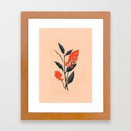 Kalemba Flower I Framed Art Print