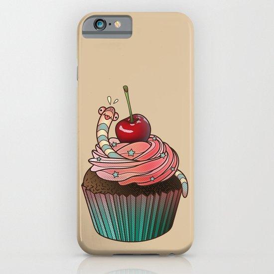 SWEET WORMS 1 - cupcake iPhone & iPod Case