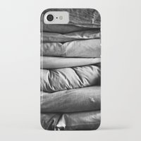 bed iPhone & iPod Cases featuring bed by Dasha