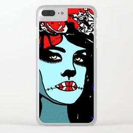 Catrina Clear iPhone Case