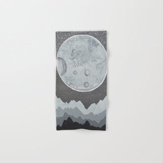 Super Moon Hand & Bath Towel