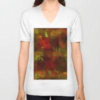 velvet underground V-neck T-shirts featuring underground by Ganech joe