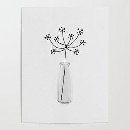 Flower Still Life I Poster